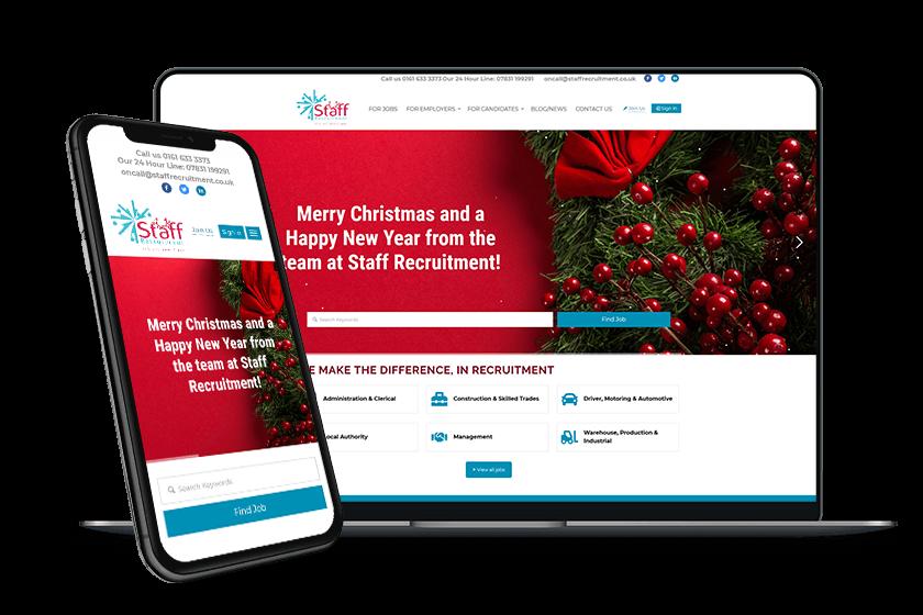 Inventis Website Design Staff Recruitment Unlimited Update Service